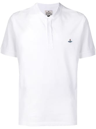 Vivienne Westwood embroidered logo polo shirt - White