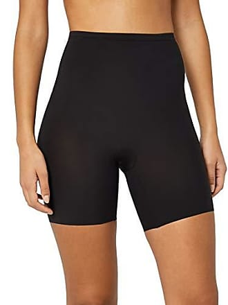 Maidenform Sleek Smoothers Shorty Shapewear, Black, Medium