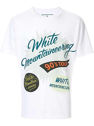 White Mountaineering Camiseta com estampa de logo - Branco