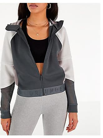 Under Armour Womens Move Light Full-Zip Training Hoodie, Grey