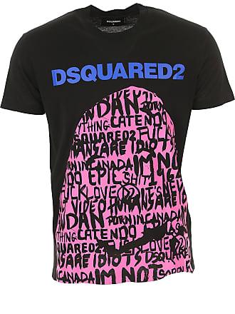 Magliette Stampate Dsquared2®  Acquista fino a −70%  e705049aa7a1