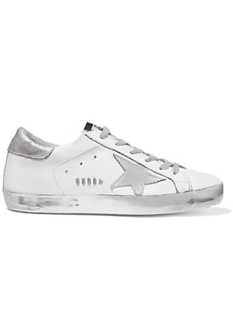 Golden Goose Superstar Sneakers Aus Leder In Distressed-optik - Silber 515db7c658