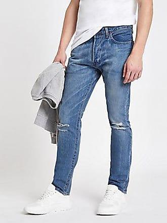 Levi's Mens Levis light blue 501 skinny jeans