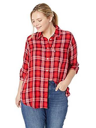 784ffe7078a Levi s Womens Plus-Size Ryan One Pocket Boyfriend Shirt