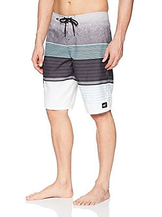 883c1b1642 O'Neill Mens 21 Inch Outseam Ultrasuede Swim Boardshort, Asphalt/Lennox, ...