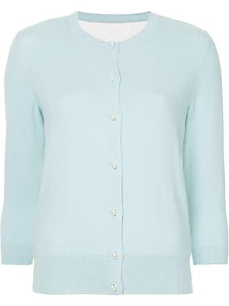 Onefifteen Cardigan com bordado inglês - Azul