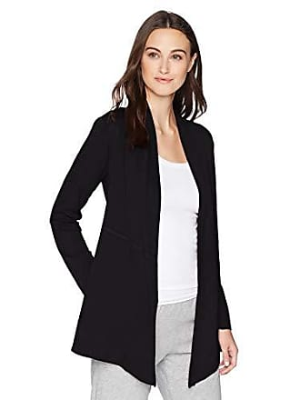 Natori Womens Nvious Jacket, Black, L