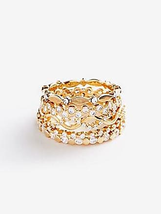 ANN TAYLOR Summer Stacked Ring Set