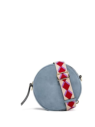 Gianni Chiarini tamburello light blue cross body bag