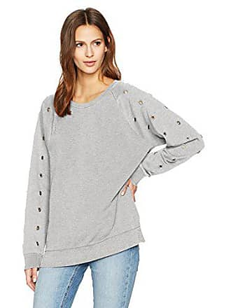 Joe's Womens Izzy Sweatshirt, Heather Grey, L