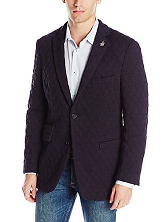 U.S.Polo Association Mens Wool Blend Sport Coat, Pat3914q Gray, 40 Regular