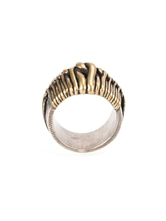 Tobias Wistisen Wide Twist ring - Bronze