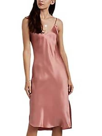 3fe9ad632d76e Nili Lotan Womens Silk Cami Dress - Vintage Rose Size L