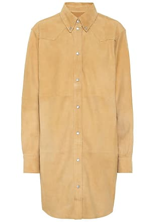 Isabel Marant Senna suede shirt dress