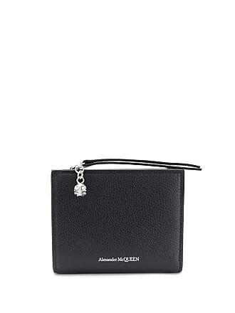 Alexander McQueen wristlet wallet - Black