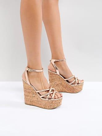 c5184ea212a202 Asos ASOS - TULITA - Chaussures à semelles compensées hautes - Doré