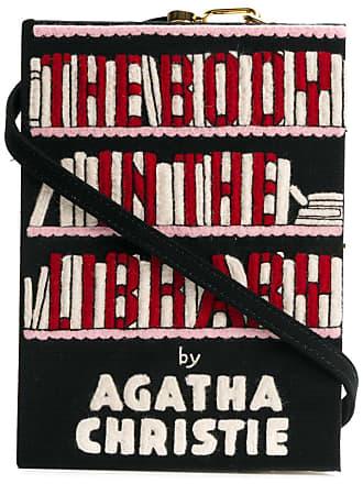 Olympia Le-Tan Clutch The Body In The Library - Preto