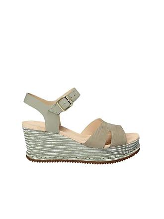 7835ee0a384e7a Clarks Akilah Eden Womens Wedge Sandals 5 Light Green