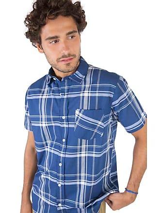 Taco Camisa Xadrez Azul Marinho/Off Azul Marinho/Off/GG