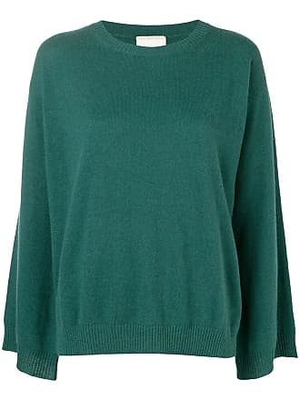 Fine Edge cashmere sweater - Verde