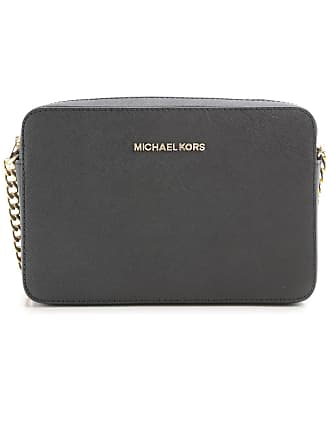 820403d66c Michael Kors Borsa a Tracolla da Donna On Sale, Jet Set Travel, Nero,