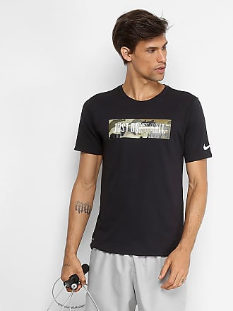 Nike Camiseta Nike Dry Just Do It Masculina - Masculino 3572d478547ee
