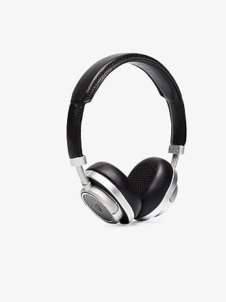Master & Dynamic Black Leather, Aluminium and Steel Over Ear Headphones
