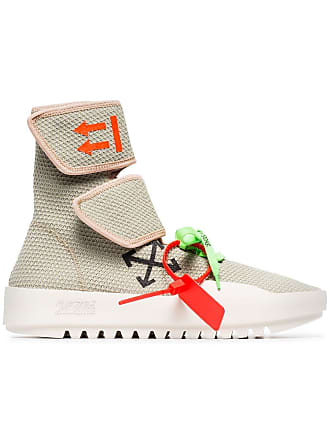 Off-white Light Grey Moto Wrap Trainers