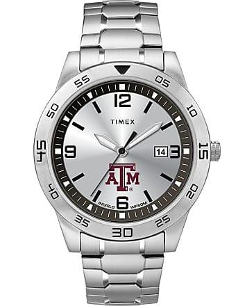 Timex Timex Watch Mens Citation Tamu Aggies Silver-Tone/silver-Tone/silver-Tone Item TwzutaMMlyz