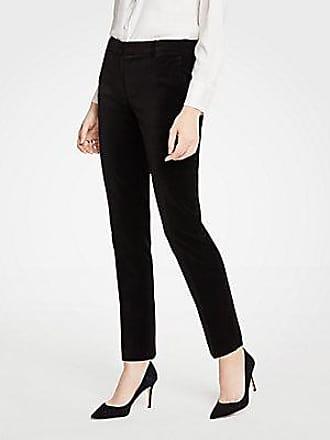 ANN TAYLOR The Petite Ankle Pant In Velvet