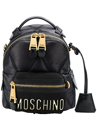 Moschino small quilted backpack - Black