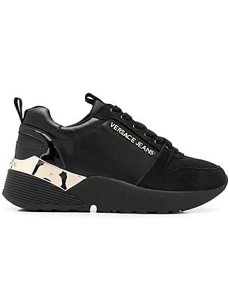 fcfab853bce2fb Versace Jeans Couture platform runner sneakers - Black
