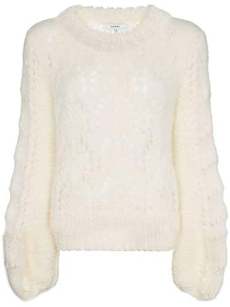 801c5599931ff Ganni the julliard mohair jumper - White