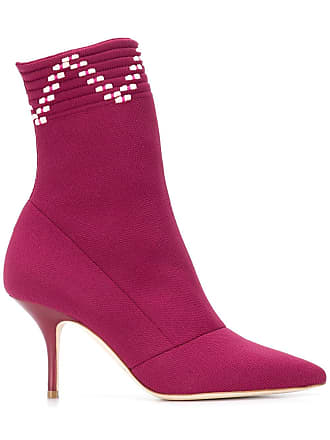 Malone Souliers Ankle boot Mariah de couro - Rosa