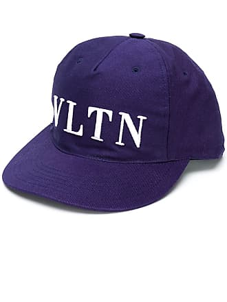add372cce4c Valentino Valentino Garavani VLTN embroidered cap - Blue