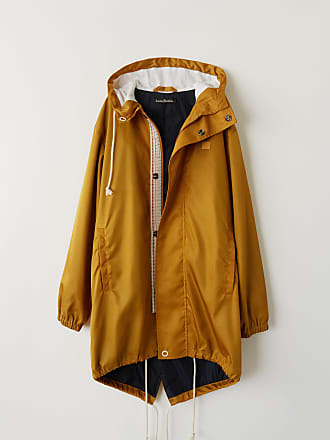 Acne Studios FA-UX-OUTW000005 Almond brown Water repellent parka