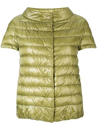 Herno short-sleeve padded jacket - Green