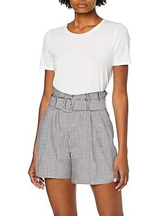 01f8bfcfb92 Vero Moda Vmgally Hw Shorts, Multicolore (Night Sky Stripes: Snow White),