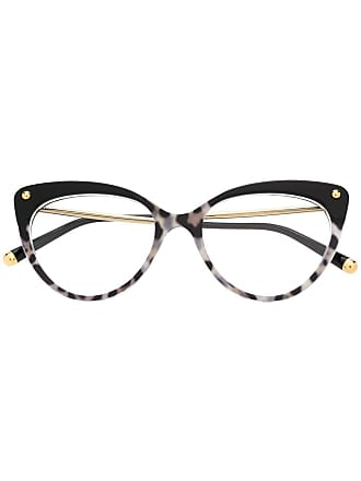 Dolce & Gabbana Eyewear cat-eye shaped glasses - Black