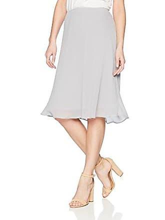 Nic+Zoe Womens Paired Up Skirt, zinc, Medium