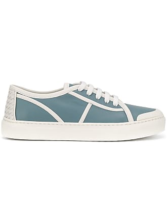 Bottega Veneta lace up sneakers - Blue