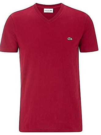 Lacoste TH2036 Herren T-Shirt V-Ausschnitt,Männer Basic Tshirt,Tee, 171f185bda