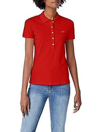 4e82e08f79d8 Lacoste PF7845 Polo, (Rouge 240), (Taille Fabricant:42) Femme