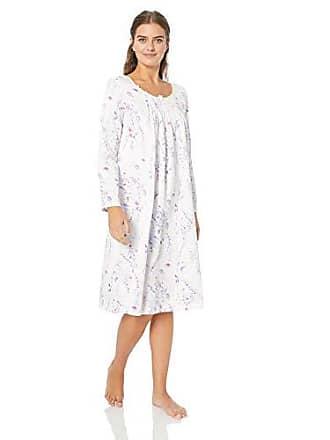 a8f80b485435 Carole Hochman Womens Brushed Back Satin Waltz Gown, Stripe Ditsy Floral, XL