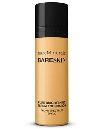 bareMinerals bareSkin Liquid Foundation & Pure Brightening Serum, Bare Buff 10