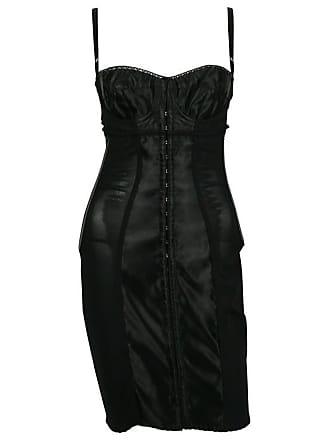 b8fdeaba8d Dolce   Gabbana Black Lingerie Corset Bustier Dress