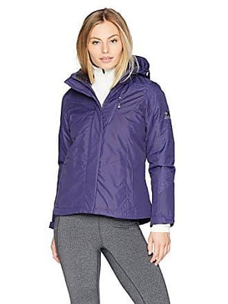 ZeroXposur Womens Eileen Insulated Jacket, Purple, Petite Medium