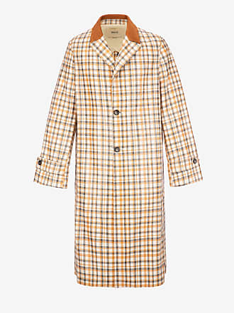 Bally Laminated Cotton Coat Brown 50