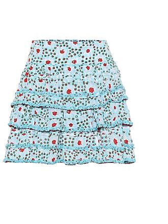 Poupette St Barth Exclusive to Mytheresa - Bibi printed miniskirt