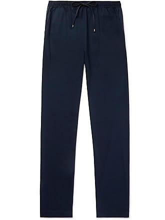 Zimmerli Cotton And Modal-blend Jersey Sweatpants - Navy
